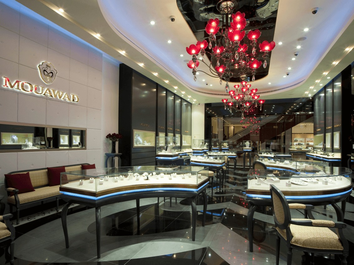 Mouawad Jewels And Timepieces At The Dubai Mall