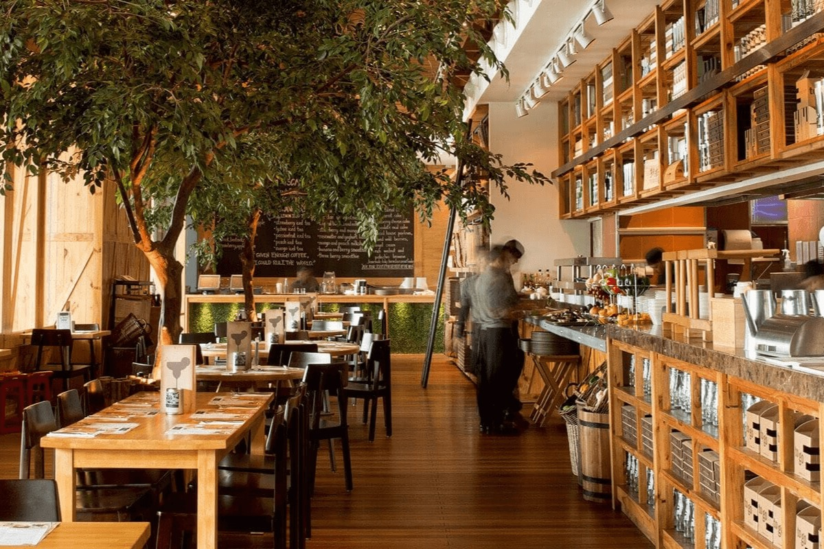 Social house restaurant with eastern western blend at for Boutique one dubai